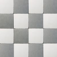 vloertegels - 15x15cm - type d22.1 wit-grijs