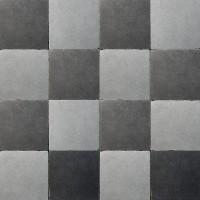 vloertegels 15x15cm - type d22.1 zwart-grijs