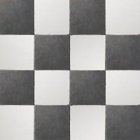 vloertegels 15x15cm - type d22.1 zwart-wit