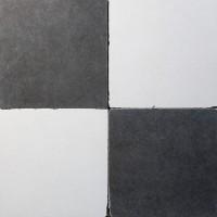 vloertegels - 30x30cm - type d22 zwart-wit